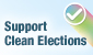 Support Clean Elections
